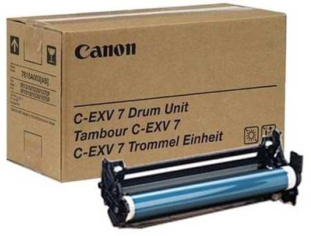 Картриджи Canon Canon Барабан черный оригинал (24K) [C-EXV 7] для Canon iR1210 / 1230 / 1270 / 1510 / 1530 / 1570