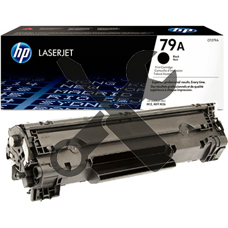 Заправка картриджа CF279A для  HP LaserJet M12A Pro  M12W  M12  M26A  M26W MFP  M26 MFP