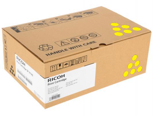Принт-картридж высокой емкости, желтый, тип Ricoh SPC252HE ( 6000стр) для Ricoh SPC252DN / C252SF