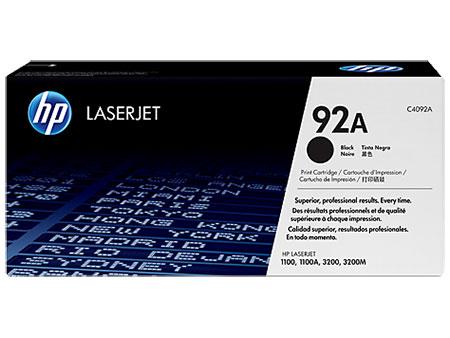 Картриджи HP HP Картридж черный HP 92A LaserJet 1100/ 3200 (2,5K)