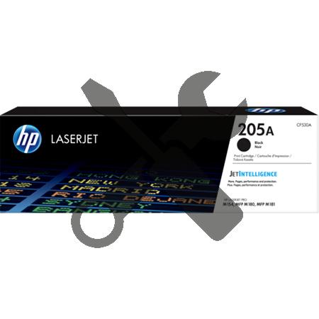 Заправка картриджа HP LaserJet 205A черный CF530A для  Pro M180n / Pro M181fw с заменой чипа
