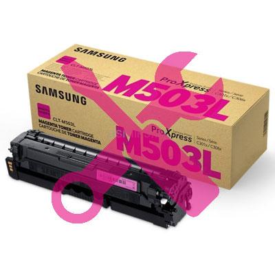 Заправка красного картриджа CLT-M503L для Samsung ProXpress C3010 / C3010ND / C3060 / C3060FR / C3060ND с заменой чипа