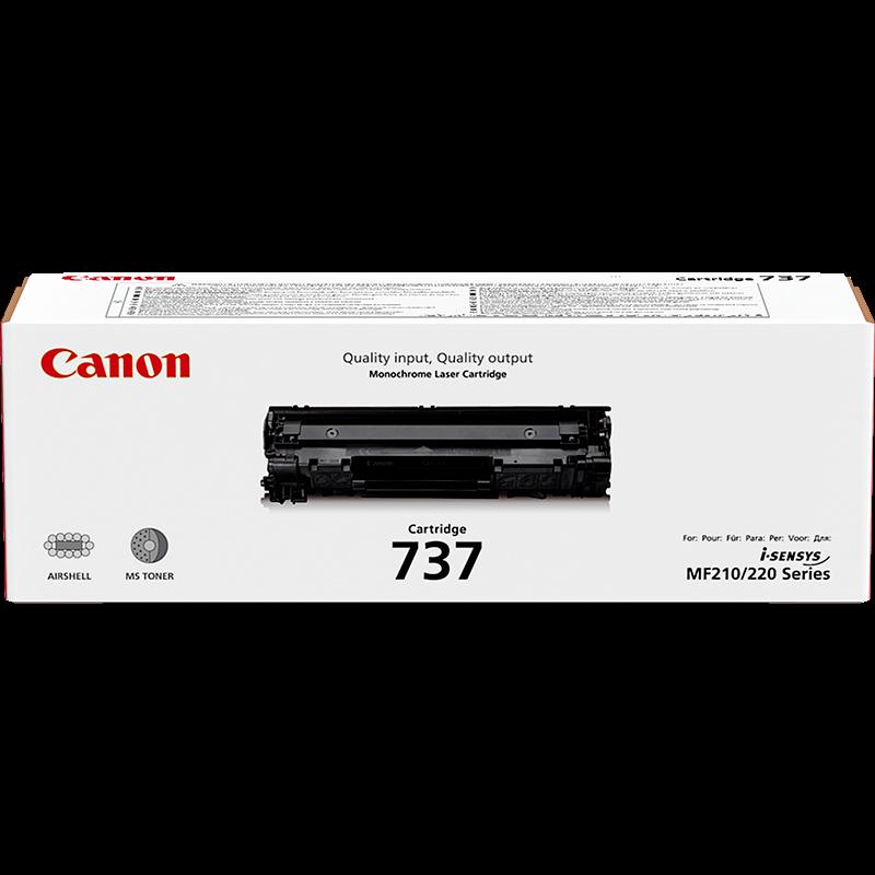 Картриджи Canon Canon Картридж черный оригинал (2.4K) [737] для Canon Canon MF 211 / 212w / 216n / 217w / 226dn / 229dw