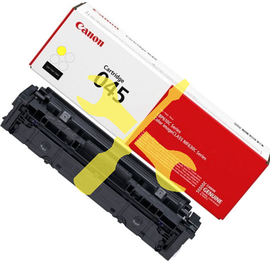 Заправка желтого картриджа Canon 045Y для i-SENSYS LBP-611Cn, 613dw, MF632Cdw, 635Cx, 633Cdw, 636Cdwt, 631Cn 634Cdw  заменой чипа