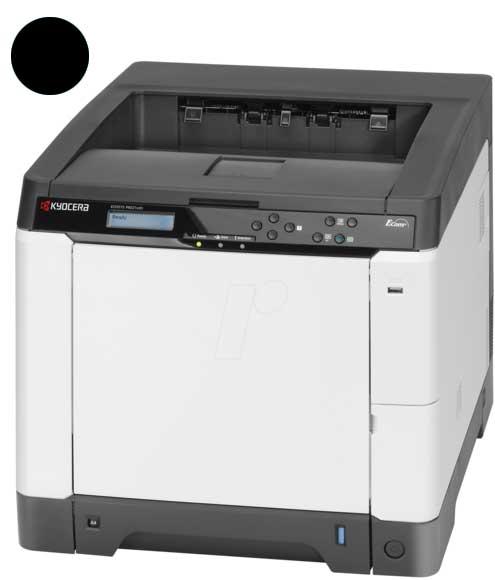 Заправка черного картриджа Kyocera TK-580K с заменой чипа