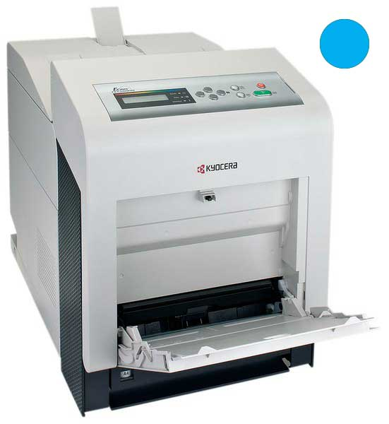 Заправка синего картриджа Kyocera  TK-540C для FS-C5100DN с заменой чипа
