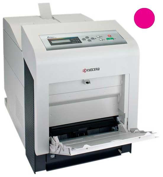Заправка красного картриджа Kyocera TK-540M для FS-C5100DN с заменой чипа