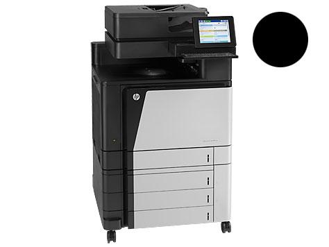 Заправка черного  картриджа 827A CF300A для HP Color LJ Enterprise flow M880 с заменой чипа