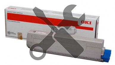 Заправка черного картриджа  для  OKI C612n / C612dn с заменой чипа