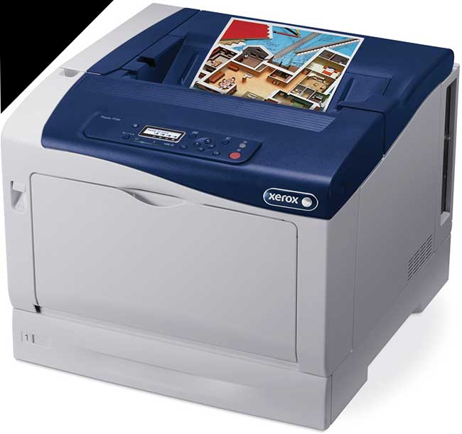 Заправка черного картриджа Xerox Phaser 7100 с заменой чипа
