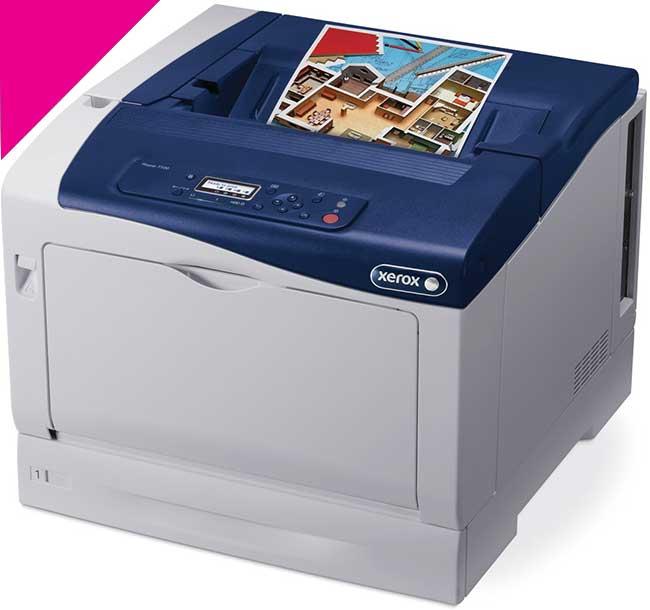 Заправка пурпурного картриджа Xerox Phaser 7100 с заменой чипа