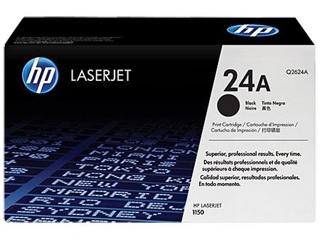 Картриджи HP HP Картридж черный НР 24A LaserJet 1150 (2,5К)