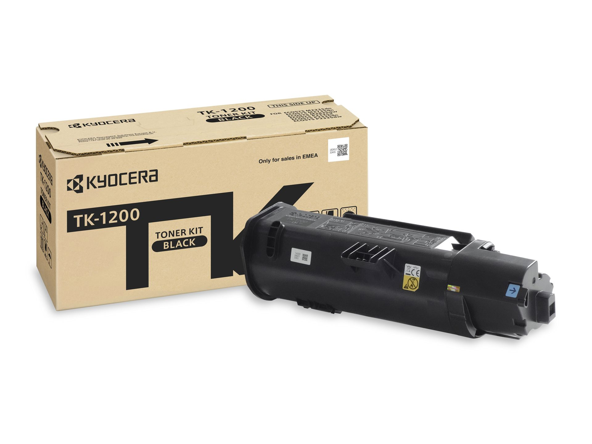 Заправка картриджа Kyocera TK-1200 для ECOSYS P2335d / M2235dn / M2735dn / M2835dw с заменой чипа