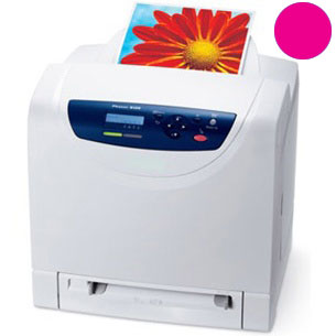 Заправка красного картриджа Xerox Phaser 6125 с заменой чипа
