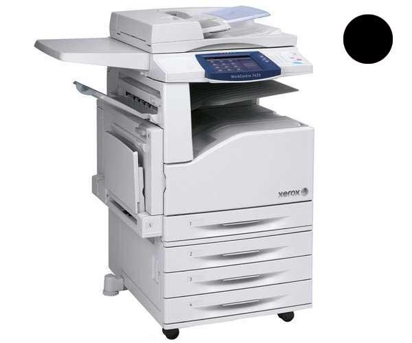 Заправка черного картриджа для Xerox WorkCentre 7425 / 7428 / 7435 с заменой чипа
