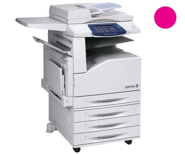 Заправка красного картриджа для Xerox WorkCentre 7425 / 7428 / 7435 с заменой чипа