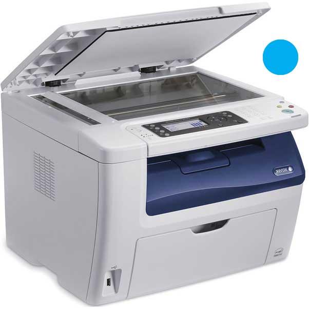 Заправка синего картриджа Xerox  Phaser 6020 / 6022 / WC 6025 / 6027 с заменой чипа