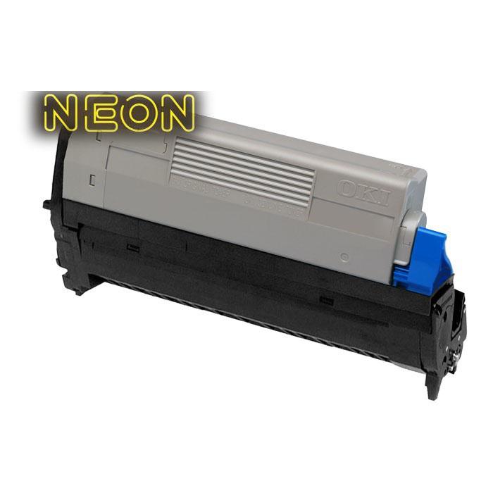 Моноблочный печатный картридж для принтера Pro6410Neon черного цвета, заменяющего картридж неоново-белый, ресурс 6000 стр.