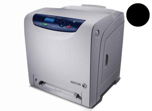 Заправка черного картриджа Xerox Phaser 6140 с заменой чипа