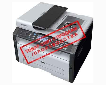 Ricoh архивные модели Ricoh Аппарат Ricoh SP 212SFNw, A4, 128Мб, 22стр/мин, LAN, WiFi, факс, ADF35, цв.сканер, старт.картридж (1000стр), самозапуск (МФУ)