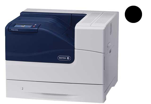 Заправка черного картриджа  Xerox Phaser 6700 с заменой чипа