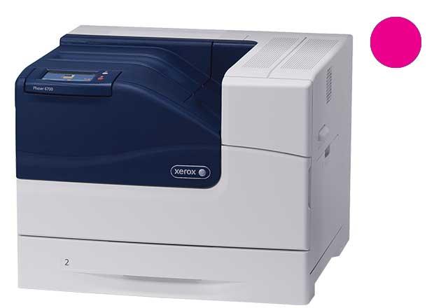 Заправка красного картриджа Xerox Phaser 6700 с заменой чипа