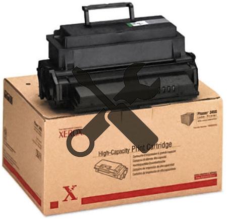 Заправка картриджа  XEROX Phaser 3450  с заменой чипа