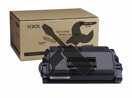Заправка картриджа XEROX Phaser 3600 Print Cartr (14K) с заменой чипа
