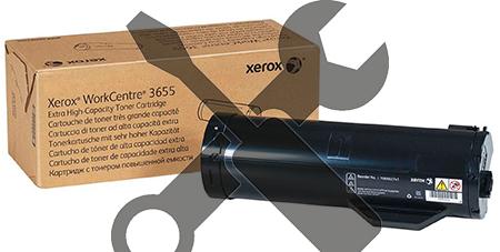 Заправка картриджей Xerox Xerox Заправка картриджа  XEROX WorkCentre 3655X (25,9K) с заменой чипа