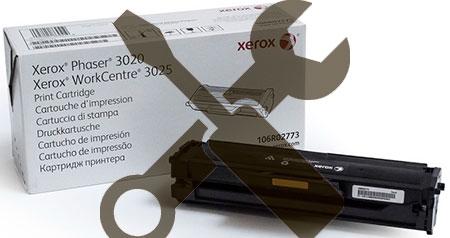 Заправка картриджа  Xerox WorkCentre 3025 / Xerox Phaser 3020 с заменой чипа