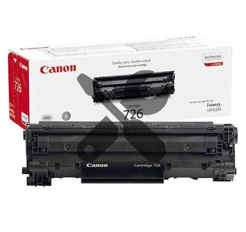 Заправка картриджа Canon 726 для  i-SENSYS LBP6200d / LBP6230dw с заменой чипа