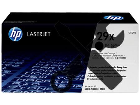 Заправка картриджа C4129X для HP LaserJet 5000 /5100