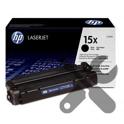 Заправка картриджа C7115X для HP LaserJet 1000w /1005w / 1200 / 1220 / 3300 / 3380