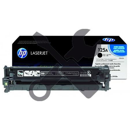 Заправка картриджа CB540A (128A) черный для HP Color LaserJet CM1312 / CP1215 / CP1515n  с заменой чипа