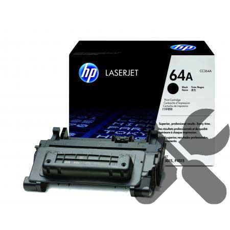 Заправка картриджа CC364A для HP LaserJet P4014 / P4015 / P4515 с заменой чипа