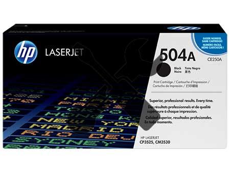 Заправка картриджа CE250A (504A) черный для HP Color LaserJet CM3530 / CP3525 с заменой чипа