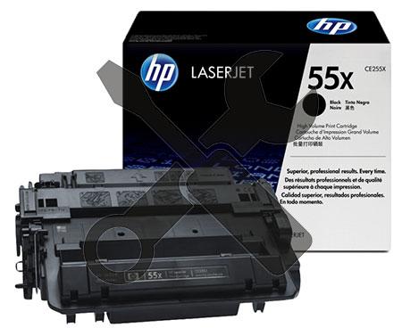 Заправка картриджа CE255X для HP LaserJet Enterprise 500 MFP M525dn / Pro MFP M521dn / P3015 с заменой чипа