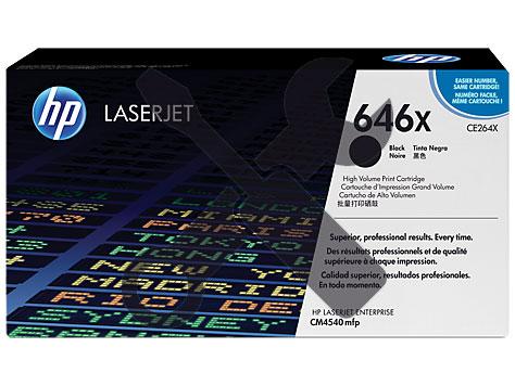 Заправка картриджа CE260X для HP Enterprise CM4540 MFP