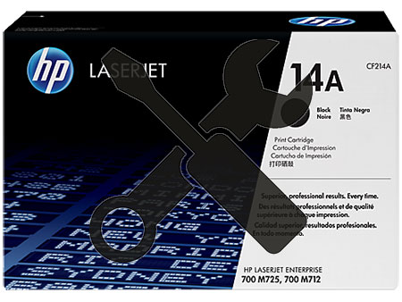 Заправка картриджа CF214A для HP LaserJet Enterprise 700 Printer M712dn / M712XN / M725