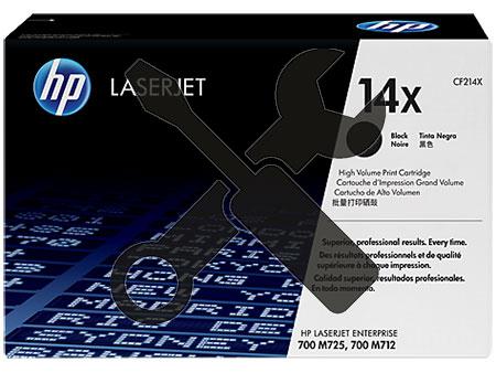 Заправка картриджа CF214X для HP LaserJet Enterprise 700 Printer M712dn / M712XN / M725