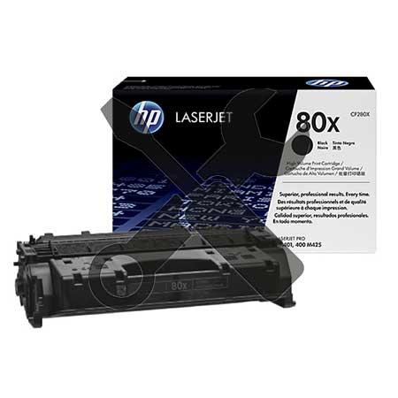 Заправка картриджа HP 80X CF280X для HP LaserJet Pro 400 M401DN / Pro 400 MFP M425dn с заменой чипа