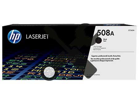 Заправка черного картриджа HP 508A ( CF360A ) для Enterprise M552 / M553 с заменой чипа