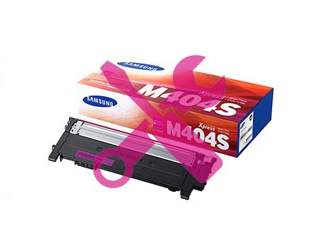 Заправка пурпурного картриджа Samsung CLT-M404S для Xpress C430 / С480 (1K) с заменой чипа