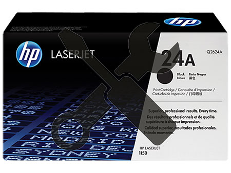 Заправка картриджа Q2624A (24A) для HP LaserJet 1150