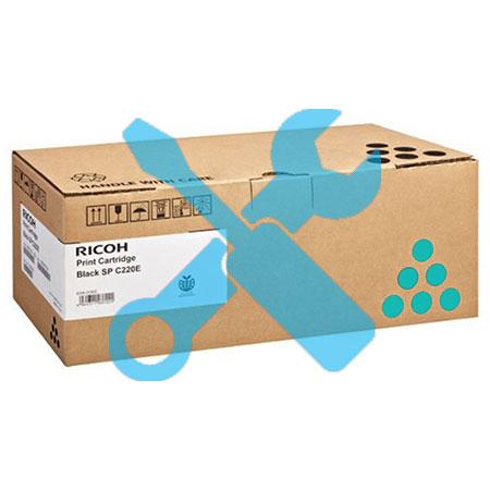 Заправка картриджа Ricoh Type SP C220 Cyan  для Ricoh Aficio SP C220N