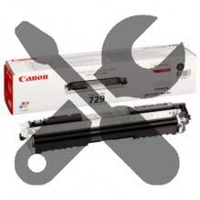 Заправка черного картриджа Canon 729 для i-SENSYS LBP7018 / LBP7010 с заменой чипа