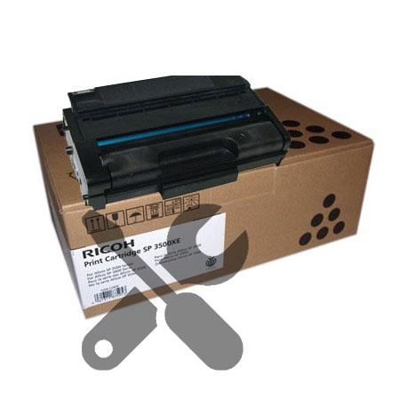 Заправка картриджа SP3500XE для Ricoh SP3510 с заменой чипа
