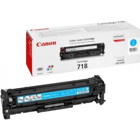 Картриджи Canon Canon Картридж голубой оригинал (2,9К) [718 C] для Canon SENSYS MF-8330 / 8350