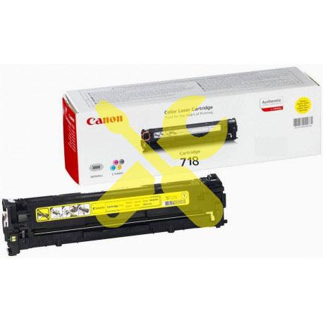 Заправка картриджа Canon 718 желтый для i-SENSYS LBP7200Cdn / MF8330 / MF8350 / MF8380 / MF8360 / MF8340 / LBP7680 / LBP7660Cdn / LBP7210Cdn / MF8540Cdn с заменой чипа